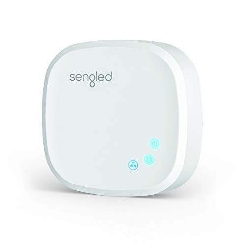 Sengled Smart Hub, For Use with Sengled Smart Products, Compatible with Alexa and Google Assistant, Homekit, Siri, E39-G8C Smart Hub, White, 1 Pack