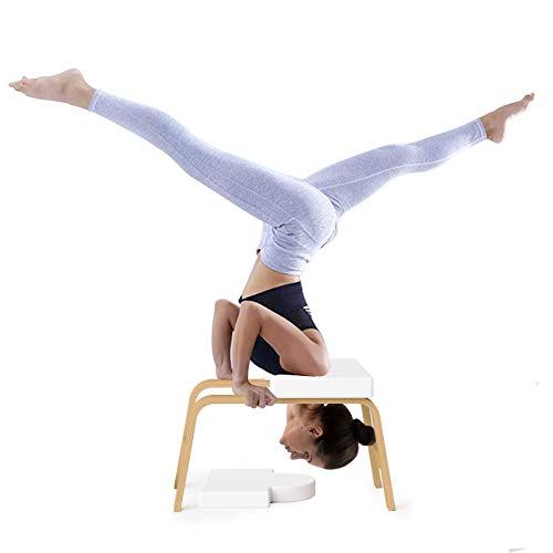 Sedia di Inversione di Yoga, Yoga Sgabello per Yoga Inversion Chair, Verticale assistito dallo Yoga Sgabello Testa Sgabelli da Fitness per la casa