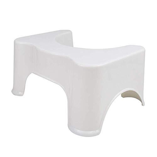 "LOMOS Badezimmer WC- & Toilettenhocker ""Vital"" in weiß (44x32x21cm)"