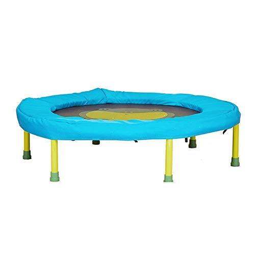 Deportes al aire libre, niños adultos, trampolín Deportes Trampolín, Trampolín circular con estilo simple de Niños Pequeños, tranquila y segura del resorte mini trampolín aptitud 25kg Teniendo