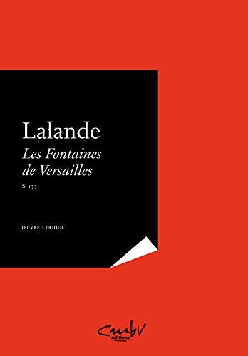 Les Fontaines de Versailles [S.133] - conducteur