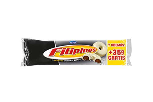 Artiach - Filipinos mit weissem Schokoüberzug -75 g.