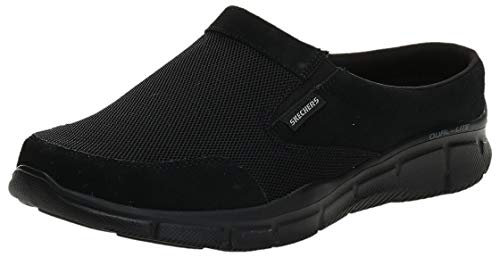 Skechers Sport Men's Equalizer Coast To Coast Mule,Black,9.5 M US