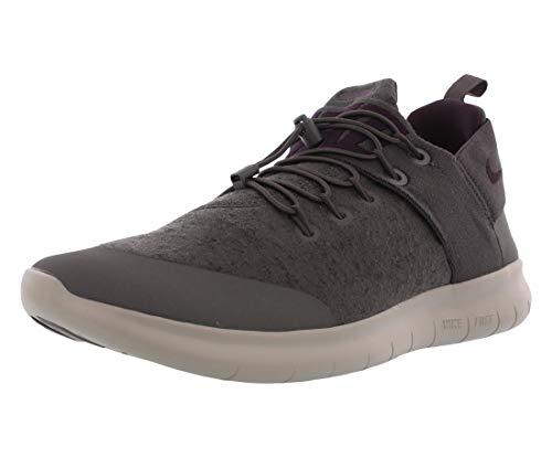 Nike Free RN CMTR 2017 Prem Mens Running Trainers AA2430 Sneakers Shoes (UK 6 US 7 EU 40, Midnight Fog Port Wine 003) Grey