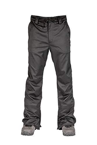 L1 Premium Goods Thunder Pantalón De Snowboard para Hombre, Black, L