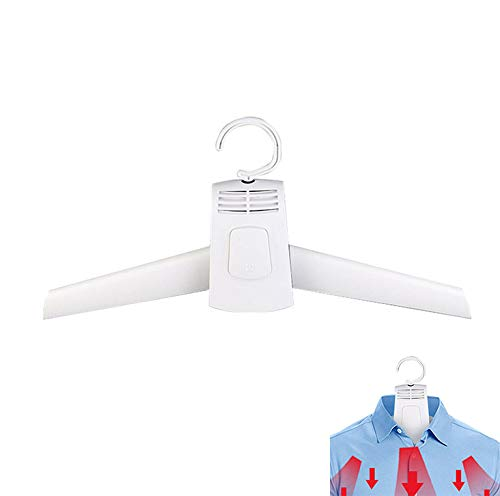 CAIZHAO Foldable Clothes Hangers Electric Laundry Clothes Dryer Rack Smart Shoes Coat Hanger for Travel Trousers Perchas