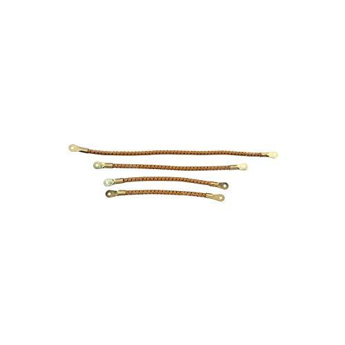 MACs Auto Parts 1655693 Model T Spark Plug Wire Set Firewall Mounted