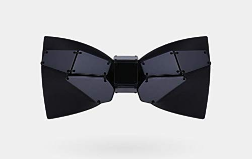 CEKINF Handgemachtes Genähtes Weißes Schmetterlings-Fliegen-Kleid-Parkett-Kopfschmuck-Hochzeits-Krawatten-Bräutigam-Schwarzes DerNeuen Männlichen Männer