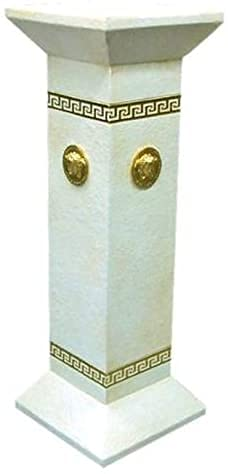 Yvonne Säule Oriental Antik Podest Blumensäule Ständer Hand bemalt Dekosäule griechisch Sockel