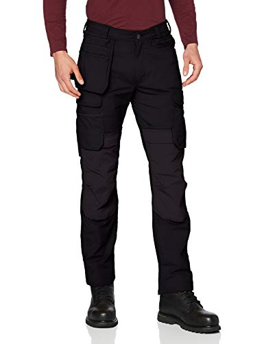 Carhartt Herren Full Swing Steel Multi Pocket Pants, Black, W32/L32