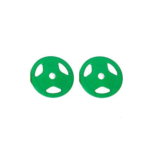 Bilanciere Piastre set di pesi - 5kg / 10kg / 20kg / 30KG / 40KG Ghisa manubri peso dischi Kit Tri-Grip spalmato PU Piastre Bilanciere pesi con 50 millimetri Foro centrale for palestra di casa / allen