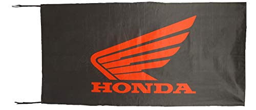 Cyn Flags HON-DA MOTOS SCHWARZ Fahne Flagge 2.5x5 ft 150 x 75 cm