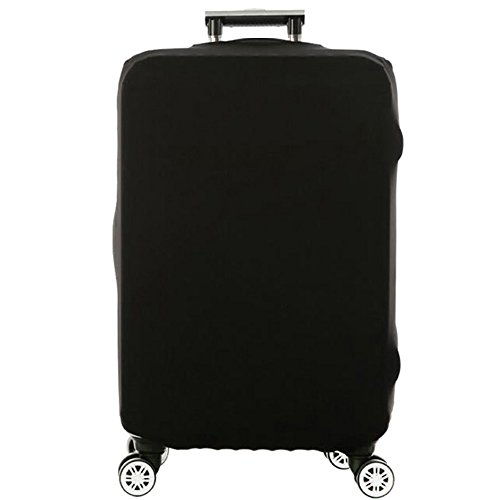 Travel Luggage Cover Spandex Suitcase Protective (Black L)