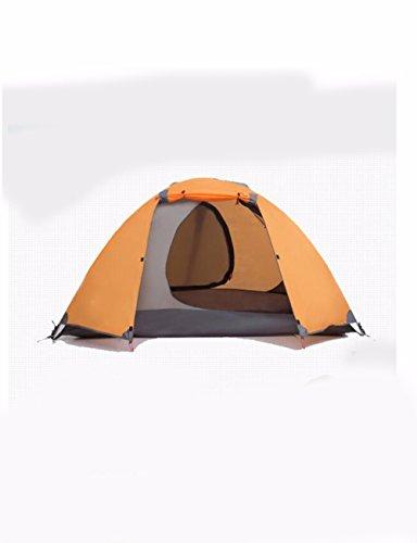 SJQKA-tentes, outdoor 2 personnes, loisirs - camping, le camping tours, quatre saisons compte, double les tentes,orange