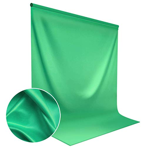 LimoStudio 9 Foot x 13 Foot Green Fabricated Chromakey Backdrop Background Screen for Photo/Video Studio, AGG1846
