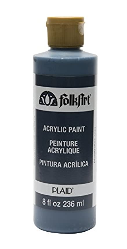 FolkArt Acrylic Paint in Assorted Colors (8 oz), K877, Navy Blue
