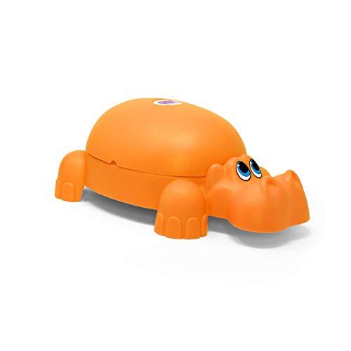OKBABY Ippopotamo - Vasino per Bambini con Seduta Ergonomica, a Forma di Animale - Arancione