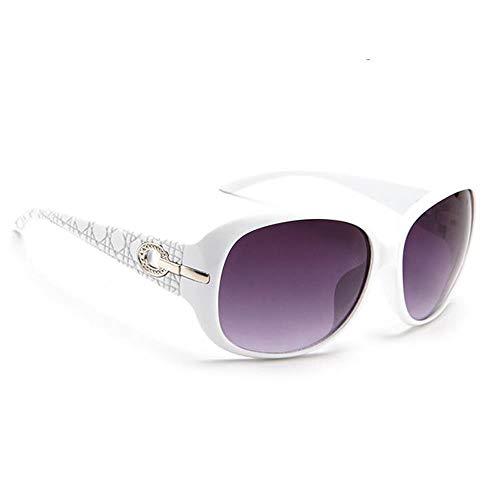 """""""N/A"""" Gafas De Sol con Montura Blanca, Gafas De Sol Moradas, Personalidad De Los Hombres, Montura Grande, Moda, Gafas De Sol Retro De Viaje Al Aire Libre, Gafas Salvajes"""