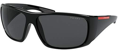 Prada Linea Rossa occhiale da sole PS 04VS 1AB5S0 Nero grigio taglia 66 mm Uomo