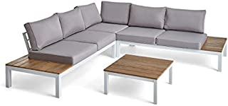 Best white aluminum outdoor furniture Reviews