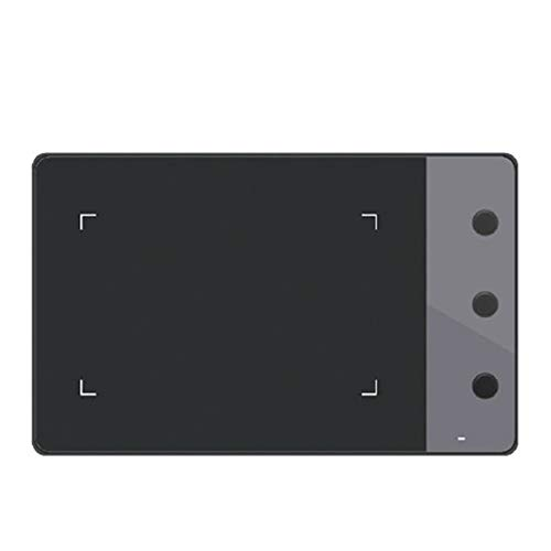 WOIA Tablero de Pintura de Tableta de Dibujo de gráficos artísticos USB de 4 * 2.23', Negro