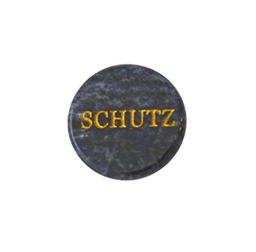 """Handvleier rond Sodaliet """"bescherming"""" ca. 3 cm"""