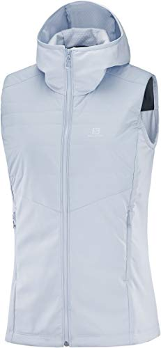 SALOMON Outspeed Insulated Vest W Chaleco, Mujer, Kentucky Blue, s