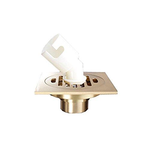 koperen vloer lekkage deodorant vloer afvoer Wasmachine vloer afvoer Roestvrijstaal filter G