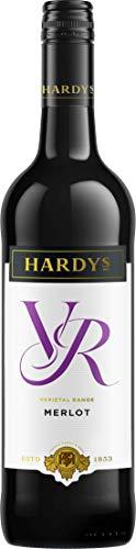 Hardys VR Merlot Wine, 75 cl (Case of 6)