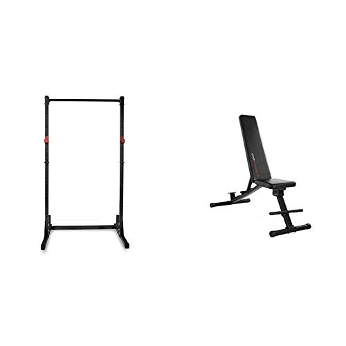 Cap Strength Power Rack and Adjustable Bench Combo