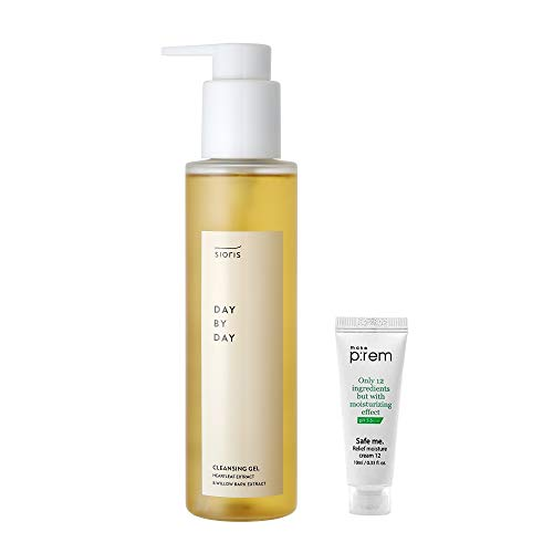 SIORIS Day by Day Cleansing Gel - pH 5.52, 100% Revitalizing, Nourishing, Sebum-Controlling, Exfoliating with natural Ingredients, 61% Organic Essential Oils – Face Cleanser for All Skin Types