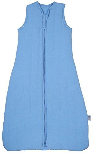 Sluimerzak licht gevoerde babyslaapzak voorjaar/zomer 1.0 Tog - verkrijgbaar in verschillende kleuren en maten 110 cm blauw