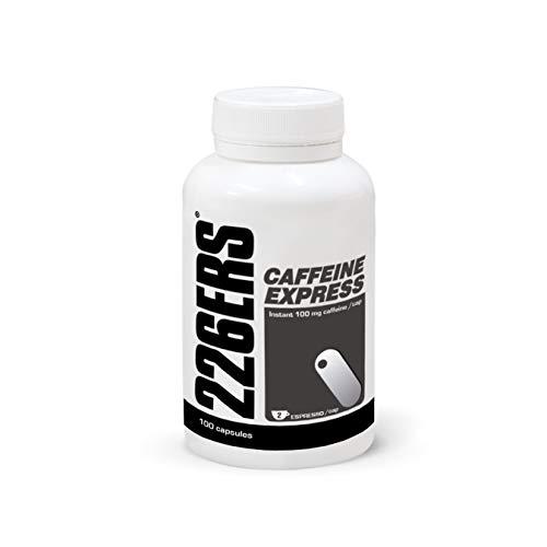 226ERS Caffeine Express | Cápsulas Energéticas con 100mg de Cafeína/cáp con Efecto Instantáneo - 100 Cápsulas de Cafeína