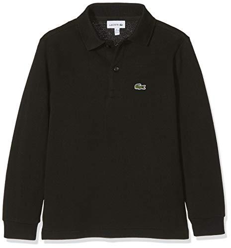Lacoste Jungen PJ8915 Poloshirt, Schwarz (Noir), 12 Jahre (Herstellergröße: 12A)