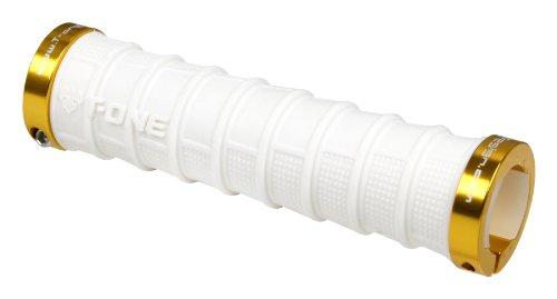 T-One Tower Grips pour guidon avec système de verrouillage Blanc blanc taille unique