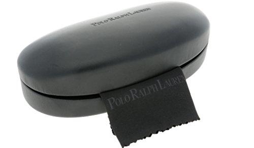 Polo Ralph Lauren Medium Black Sunglasses Case + Lense Cloth Ex Display