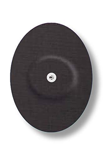 FixTape ademende sensortape voor Freestyle Libre 1 & 2 I zelfklevende patch voor glucose-sensor met hoog draagcomfort I huidvriendelijk en watervast in hippe designs I 7 stuks (Zwarte)