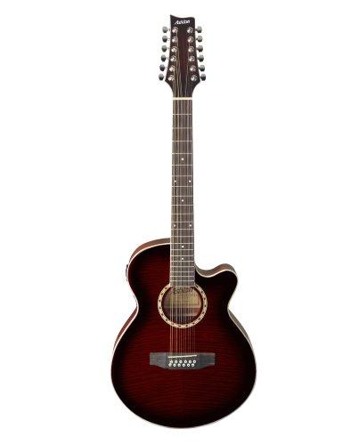 Ashton SL29/12CEQWRS Westerngitarre, Elektro Akustik Gitarre
