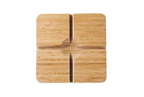 COOKDUO Veggie Gripper/Round vegetable cutting board
