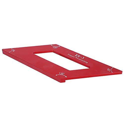 Reglas de ángulo resistentes al desgaste Precisión de 0,1 mm Gague de marcado de trazador de aleación de aluminio de alta precisión para tablero de madera