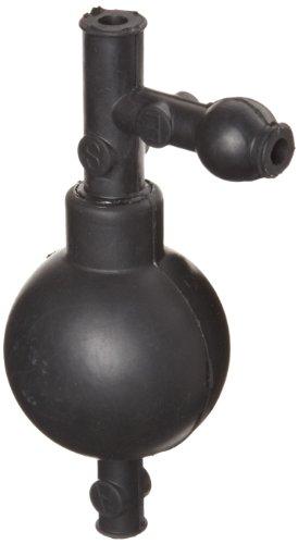 Heathrow Scientific HD20632A - Llenador de pipeta (goma, longitud x anchura x altura: 54 x 54 x 130 mm), color negro
