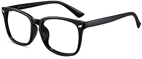 Cyxus Blue Light Filter Computer Glasses for Blocking Headache [Anti Eye Eyestrain] Transparent Lens Gaming Glasses,...