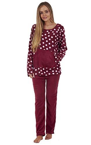 Conjunto Pijama Mujer - Forro Polar - Estampado