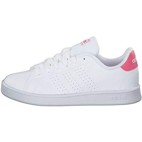 Adidas Advantage K, Zapatillas Mujer, Blanco, 37 1/3 EU