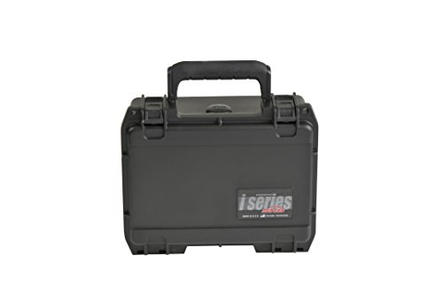 SKB 3I-0806-3B-C Water Tight Case with Micro Latch and Cubed Foam