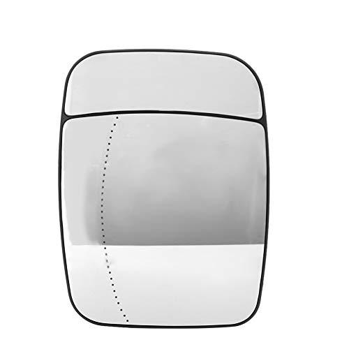 Espejo de ala-puerta de coche eléctrico lado de calentamiento Retrovisor exterior de cristal compatible con Renault Trafic, 95517329 (tamaño : Right)