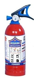Eco Fire ABC Powder Type Fire Extinguisher 2KG