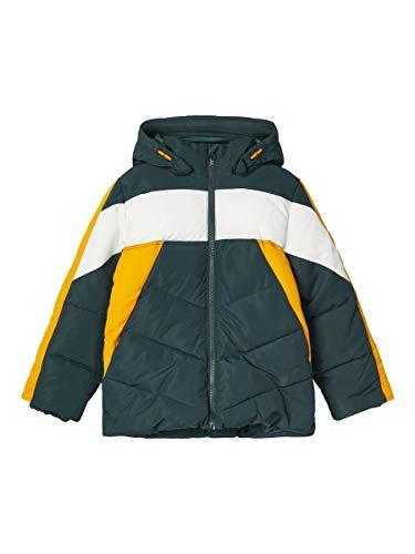 NAME IT NKMMARCO Jacket 1FO Chaqueta, Verde Oscuro, 122 cm p