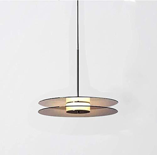 XiYou Lámpara Colgante de Vidrio, candelabro Redondo de Vidrio Transparente Moderno, lámpara de Techo chapada en Oro, para Pasillo, Sala de Estar, Isla, Cocina Loft (luz Clara)