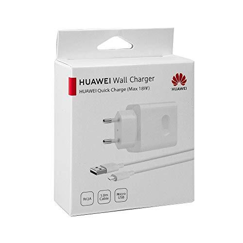 Cargador Carga Rapida Original Huawei AP32 para P8, P8 Lite, P9 Lite, P10 Lite, Mate 7, 8, Blister